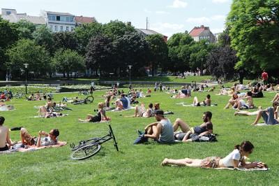 서울에 한강이 있다면 베를린에는 공원이 있다 ⓒtraveller